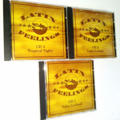 LATIN FEELINGS - Tropical Nights Sony Music - 2003 3 volume (3cd), CD