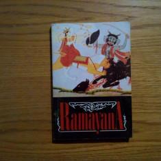 RAMAYANA - povestita in proza de Agop Bezerian - 1994, 237 p. - Carte mitologie
