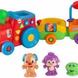 Trenulet interactiv cu figurine, Fisher Price