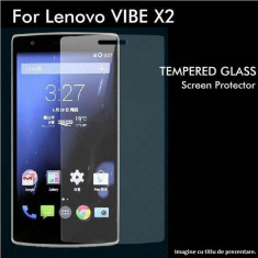 FOLIE de STICLA securizata LENOVO VIBE X2, 0.33mm, 2.5D, 9H tempered glass antisoc - Folie de protectie Lenovo, Anti zgariere