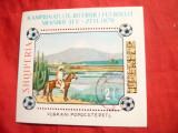 Colita - Campionatele Mondiale Fotbal 1970 Albania , stampilat