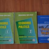 3 Carti Economie Politica Vol 1 si 2. Finante Publice - Intre teorie si practica - Carte Economie Politica