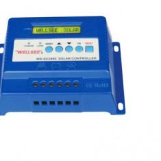 REGULATOR SOLAR Controler Fotovoltaic 3 Stadii de incarcare 12v/24v 30A Afisaj