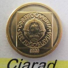 Moneda 10 Dinari - RSF YUGOSLAVIA 1989 *cod 2087 a.UNC, Europa