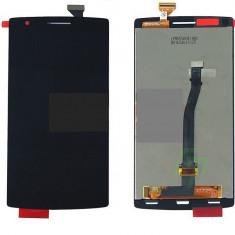 LCD+Touchscreen cu Rama OPPO OnePlus One black original - Display LCD