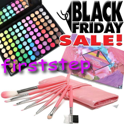 Black Friday Trusa Machiaj Profesionala 88 Culori 7 Pensule Make Up