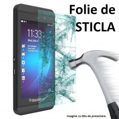 FOLIE sticla BLACKBERRY Z10, 0.33mm, 2.5D, 9H tempered glass securizata - Folie de protectie Blackberry, Anti zgariere
