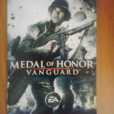 Manual - Medal of Honor - Vanguard - Playstation PS2 ( GameLand )