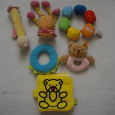 Set jucarii din plus (6) pentru bebelusi - Jucarii plus
