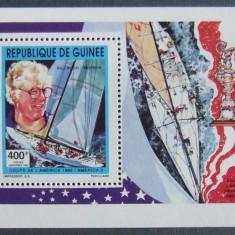 R.GUINEEA 1982 - YACHTING, VELIERE 1 S/S, NEOBLITERATA - E1768