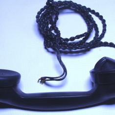 Receptor pentru telefon anii 40 disc vechi bachelita functional - Telefon fix
