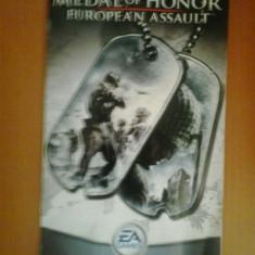 Manual - Medal of Honour - European assault - Playstation PS2 ( GameLand )