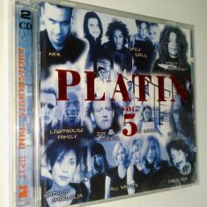 Platin Vol. 5 - compilatie pop 1998 Virgin( 2CD )