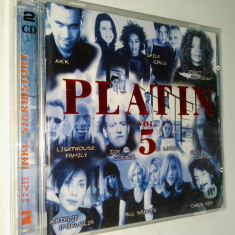 Platin Vol. 5 - compilatie pop 1998 Virgin( 2CD ), CD, virgin records