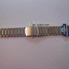 Curea/bratara pentru ceas Casio cod MTP-1183A-7ADF - pret 79 lei (originala) - Curea ceas cauciuc