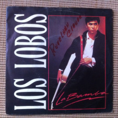 Los lobos la bamba charlena disc single vinyl 1987 muzica rock soundtrack film, VINIL