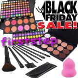 BLACK FRIDAY Trusa machiaj MAC 183 culori 7 pensule Fond de ten corector  burete, Mac Cosmetics