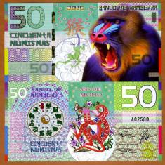 REGATUL KAMBERRA- 50 NUMISMAS 2016- ANUL MAIMUTEI- UNC!!