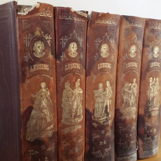 Colectie de carti Lessings Werke – 1873 - Carte de colectie