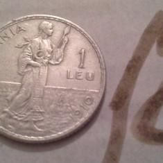 1 LEU 1910 ARGINT /12 FOARTE FRUMOASA - Moneda Romania