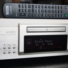 SONY MDS JA30 ES, minidisc - Deck audio