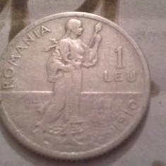 1 LEU 1910 ARGINT /11 - Moneda Romania