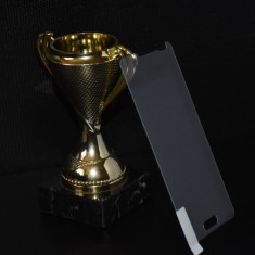 FOLIE STICLA securizata LG OPTIMUS F6, 0.33mm, 2.5D, 9H tempered glass protectie - Folie de protectie LG, Anti zgariere