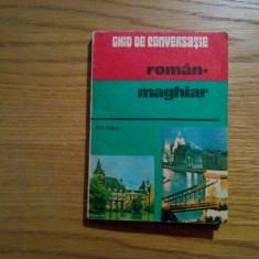 GHID DE CONVERSATIE * ROMAN - MAGHIAR - Eva Turcu - 1983, 266 p.