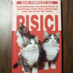 Pisici -Ghid complet. Cunoasterea si cresterea celor mai cunoscute rase din lume - Carte Zoologie
