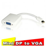 Adaptor Mini DisplayPort - VGA 1080p macbook thunderbolt convertor Full HD