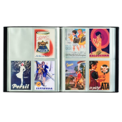 Album mare pentru 400 carte postale foto