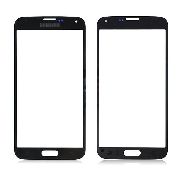 Geam Samsung Galaxy S5 G900 black + adeziv special