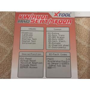 NOU !!  Diagnoza VAG COM XTOOL VAG401, tester ORIGINAL VW/AUDI/SEAT/SKODA (VCDS)