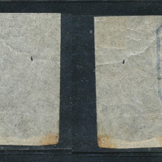 RFL 1864 Principatele Unite 30par neuzat guma originala fara sarniera colt coala - Timbre Romania, Nestampilat
