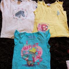 Set- 2 tricouri cu maieu SUPER OFERTA, fetite, pentru 5-7 ani, ideale de joaca, Culoare: Din imagine, Fete