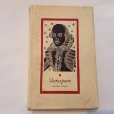 SHAKESPEARE - ANTOLOGIE BILINGVA {romana engleza}, rf9/3, Anul publicarii: 1964