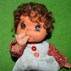 Papusa veche anii '70, Sekiguchi Gege Monchhichi (isi suge degetul), 25cm