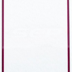 Geam Samsung i9500/i9505 Galaxy S4 + adeziv special original red