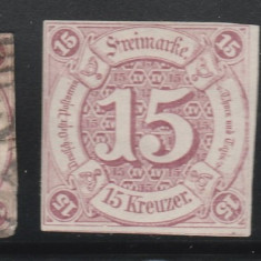 Thurn and Taxis - State Germane 1859, Mi nr 24 - stampilat mixt, Germania