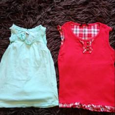 Set de doua maieuri, maiouri moderne, fetita, 3-5 ani, George si Zara, fashion, Culoare: Din imagine