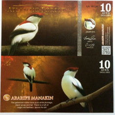 ATLANTIC FOREST- 10 AVES 2016(2015)- UNC!!