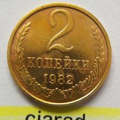Moneda 2 Copeici - URSS 1982 *cod 2138