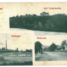 3351 - Alba, OCNA MURES - old postcard - used - 1907 - Carte Postala Transilvania 1904-1918, Circulata, Printata