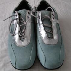 Pantof sport dama Geox Respira piele marimea 40 - EP 0382904 - NOU!!! Reducere - Adidasi dama Geox, Culoare: Din imagine, Piele intoarsa