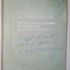 Determinator pentru recunoasterea daunatorilor plantelor cultivate  - 1979