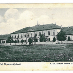 3352 - Cluj, GHERLA - old postcard - used - 1916 - Carte Postala Transilvania 1904-1918, Circulata, Printata