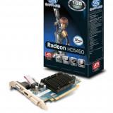 Placa video SAPPHIRE 1024 MB GDDR3 64 bit PCI-E 16x AMD Radeon HD 5450 VGA DVI HDMI