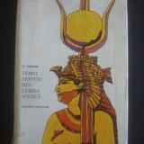 D. TUDOR - FEMEI VESTITE DIN LUMEA ANTICA - Istorie