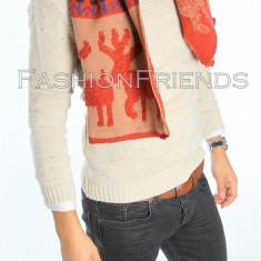 Fular barbati - dama UNISEX- fular gros - fular fashion - fular craciun cod 5517