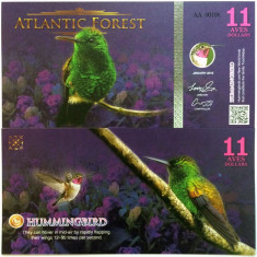 ATLANTIC FOREST- 11 AVES 2016(2015)- UNC!!